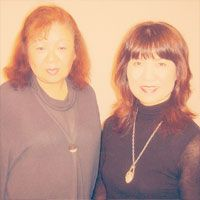 Mrs. Sumie Sugimoto and Mrs. Michiko Tabata